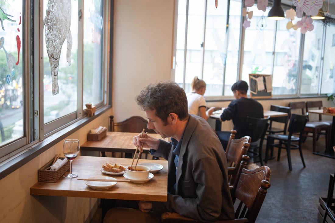 Slow Food and Wine Bar végétalien KiboKo à Tokyo