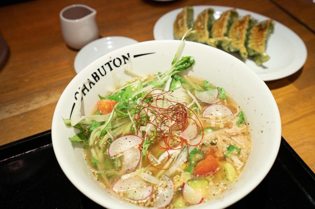Ramen végétarien à Kyoto à Chabuton