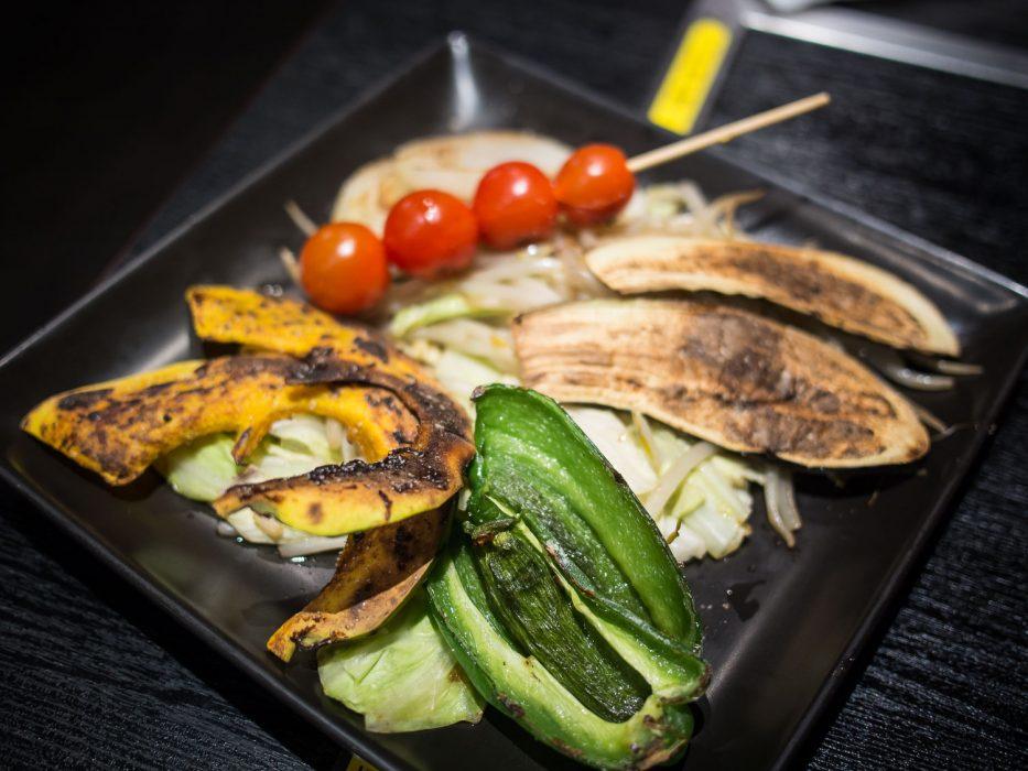 Légumes grillés au Zen, Tokyo