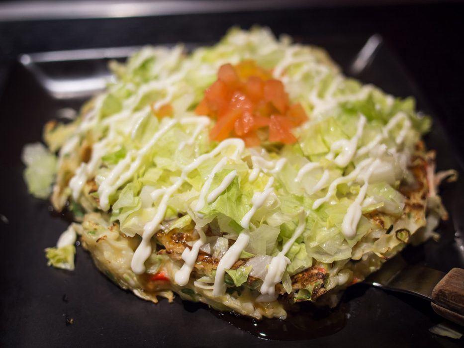 Okonomiyaki spécial tomate au Zen, Tokyo