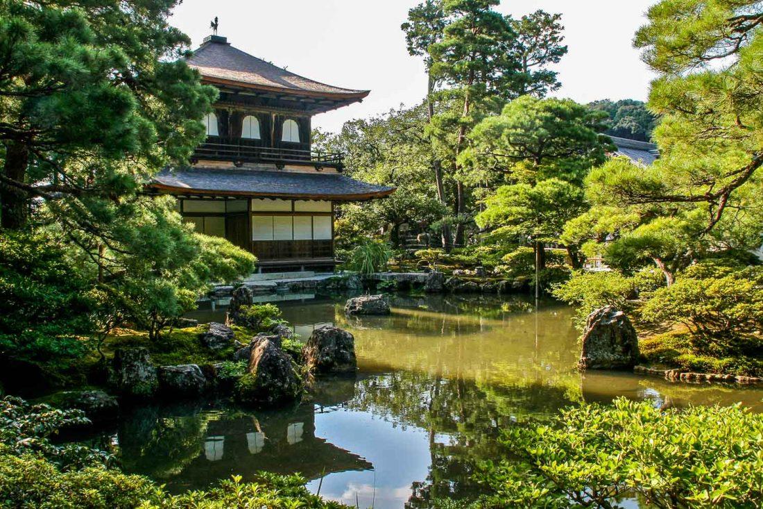 Ginkakuji Silver Pavilion, l'un des meilleurs temples de Kyoto