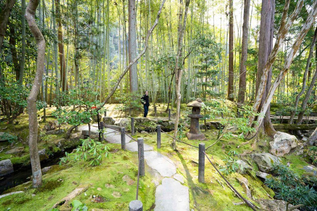 Les jardins du sous-temple Tenjuan à Nanzenji à Kyoto, Japon