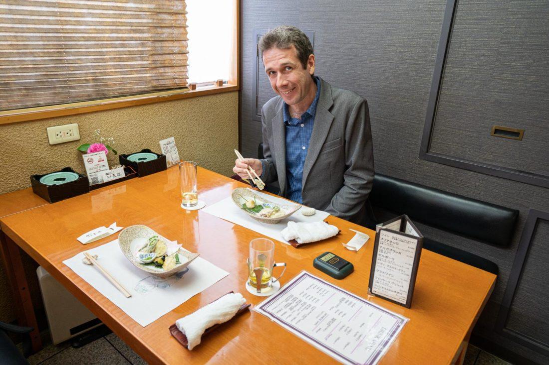 Asai Togei Kaiseki restaurant à Osaka où vous pouvez obtenir un repas végétalien
