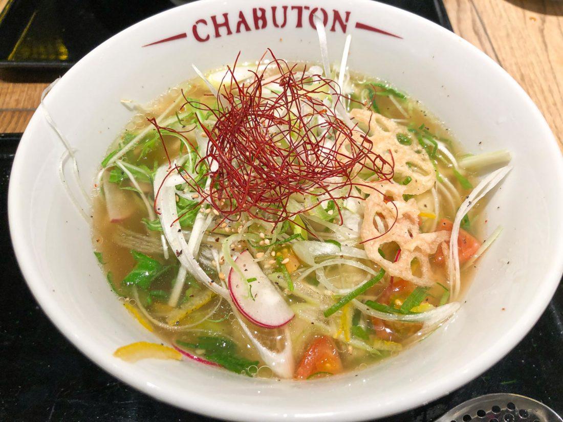 Ramen végétarien à Osaka à Chabuton