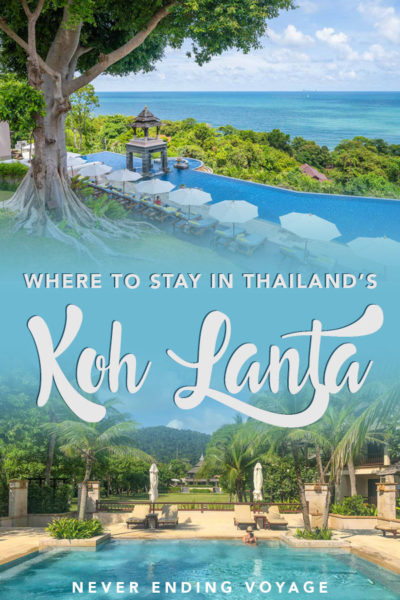 Wondering where to stay in Koh Lanta, Thailand? Here are all the best beaches and resorts! #kohlanta #thailand