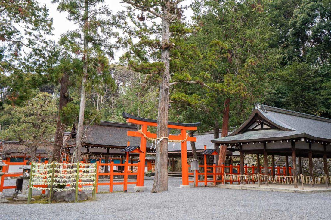 Yoshida Shrine, un temple tranquille de Kyoto sur la colline de Yoshida