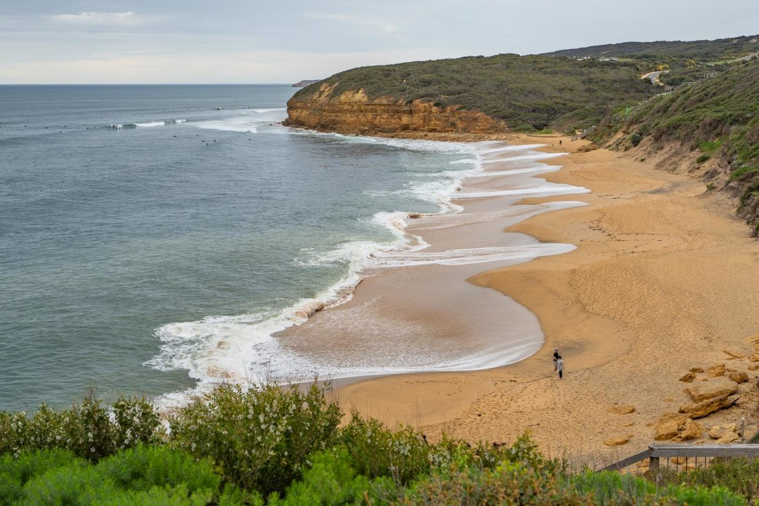 Bells Beach sur la Great Ocean Road