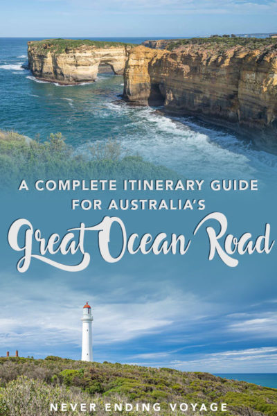 All you need to know for planning your trip and itinerary for the Great Ocean Road in Australia