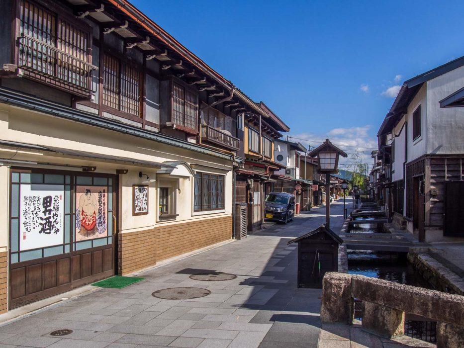 Hida Furukawa près de Takayama