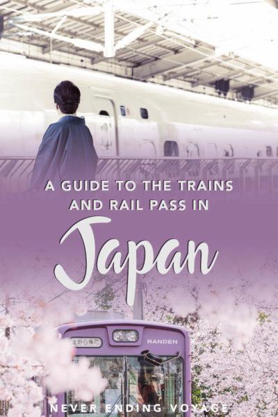 Le pass ferroviaire au Japon en vaut-il la peine? Voici tout ce que vous devez savoir sur les voyages en train au Japon! | comment se déplacer au Japon, train au Japon, voyage lent