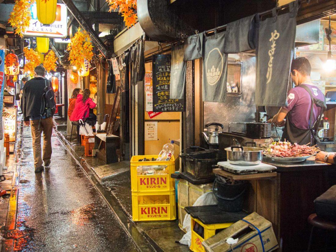 Memory Lane, l'un des meilleurs endroits à visiter à Shinjuku
