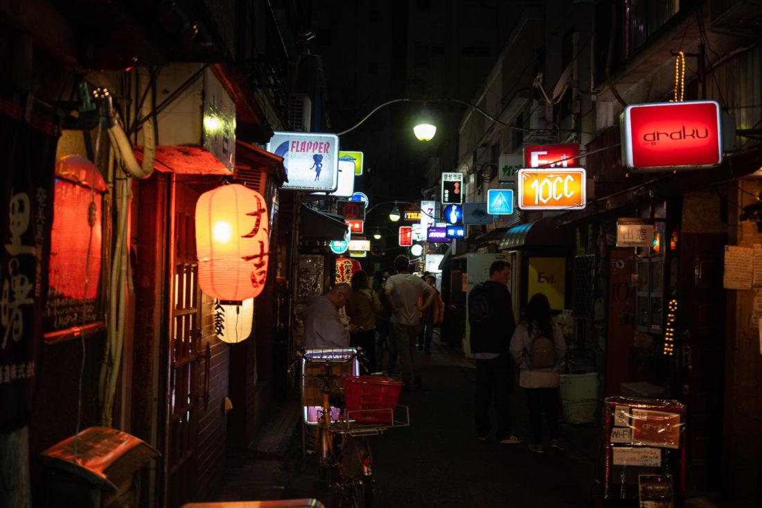 Golden Gai, une rue de bars minuscules et l'une des meilleures choses à faire à Tokyo