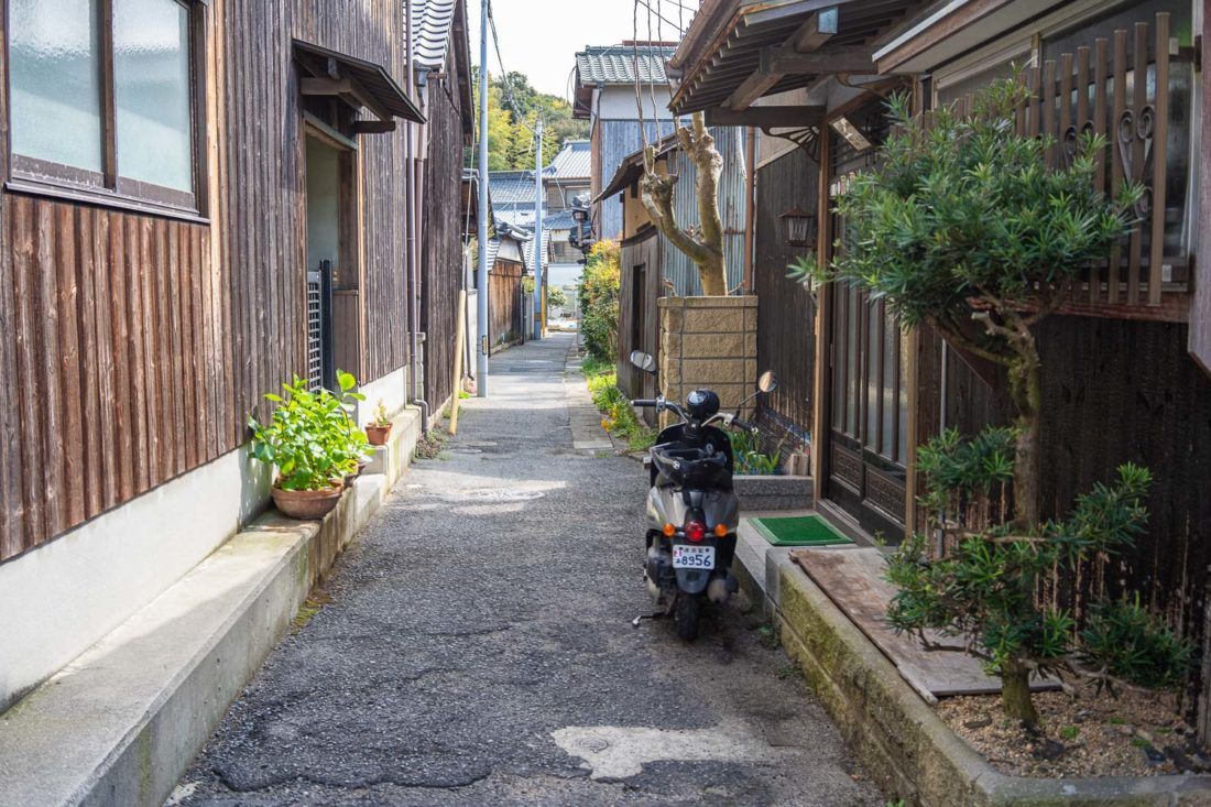 Villa Honmura à Naoshima, Japon