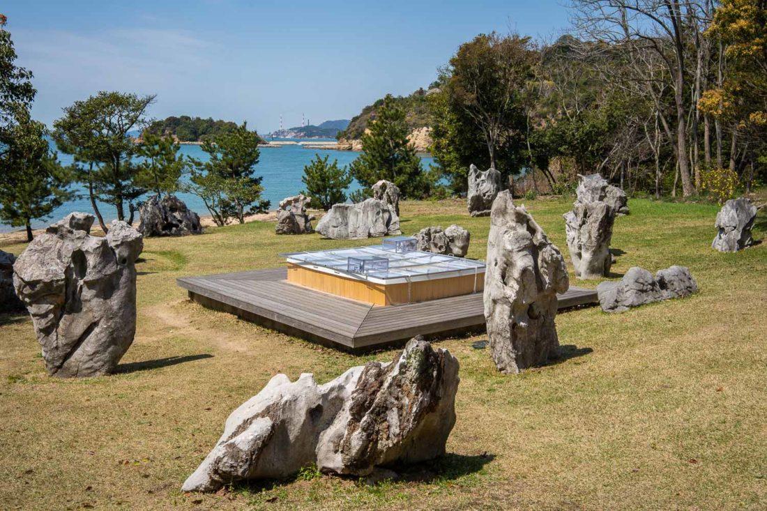 Bain de fusion culturelle: Projet pour Naoshima de Cai Guo-Qiang sur l'île de Naoshima