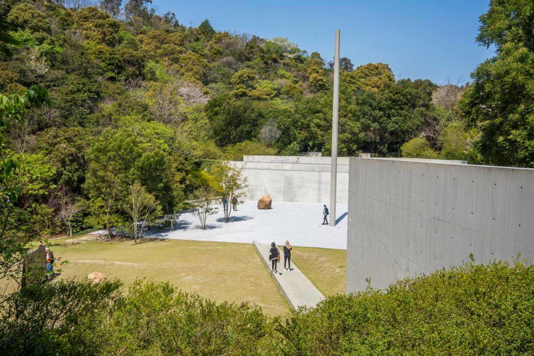 Lee Ufan Museum sur l'île de Naoshima, Japon