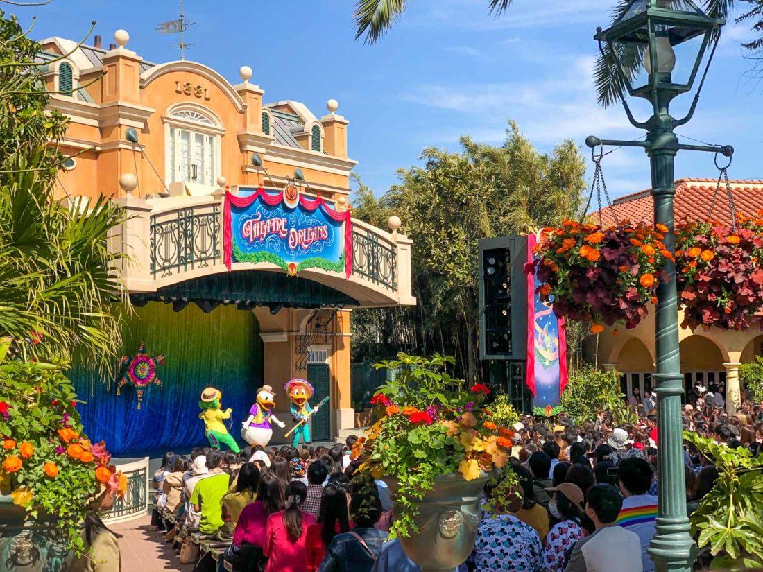 Let's Party Gras, le meilleur spectacle à Tokyo Disneyland