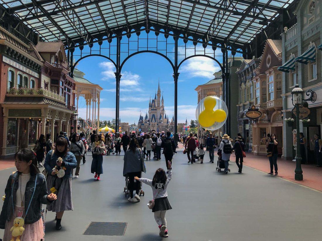 Main Street à Tokyo Disneyland