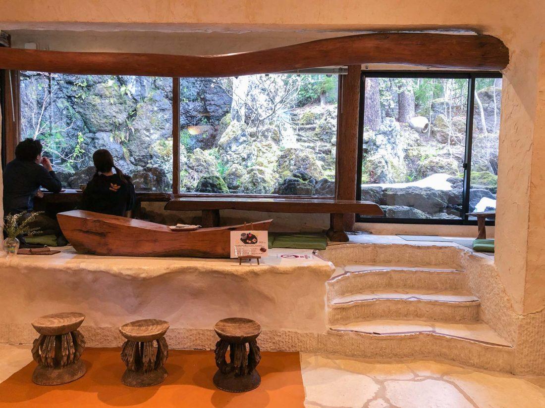 Itchiku-un salon de thé au musée d'art Itchiku Kubota, l'une des meilleures choses à faire à Kawaguchiko