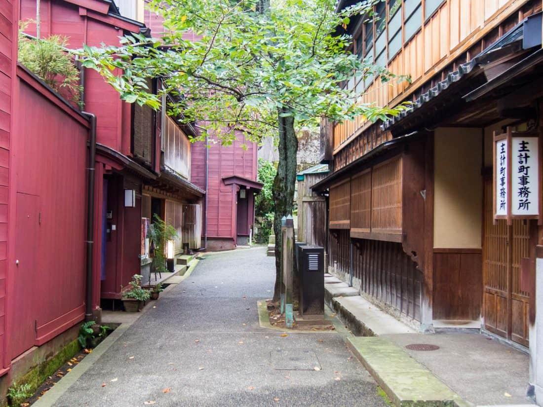 Zone de geisha de Kazuemachi à Kanazawa, l'une des meilleures villes à visiter au Japon