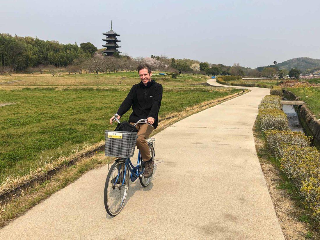 """Piste cyclable de Kibiji près d'Okayama """"width ="""" 1100 """"height ="""" 825"""