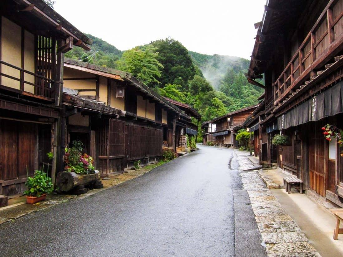 Village de Tsumago dans la vallée de Kiso, un incontournable au Japon