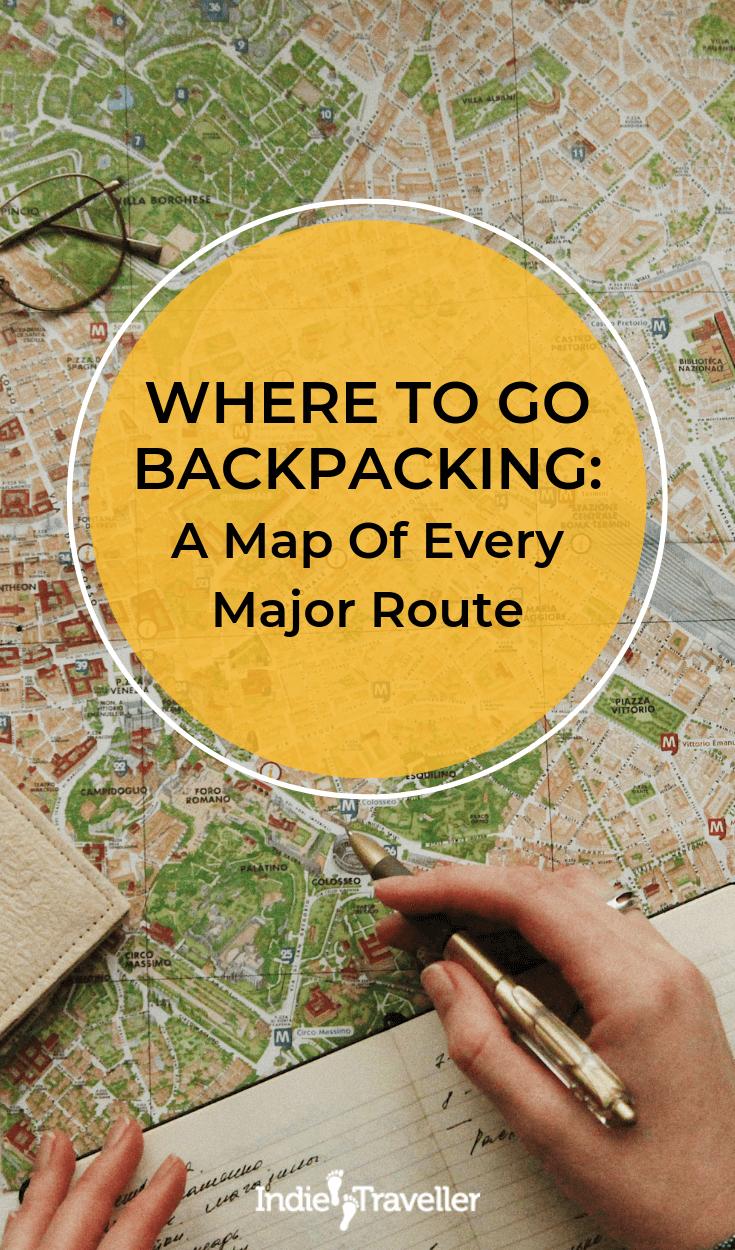 Meilleurs itinéraires de randonnée: Si vous voulez parcourir le monde, l'ampleur des choses peut être un peu intimidante. Cela aide vraiment à décomposer un peu les choses. Voici un guide de chaque itinéraire majeur pour les routards dans diverses régions du monde. #BackpackingTips #BudgetTravel #Travel #TravelTips #SoloTravel #IndieTravel #IndieTraveller