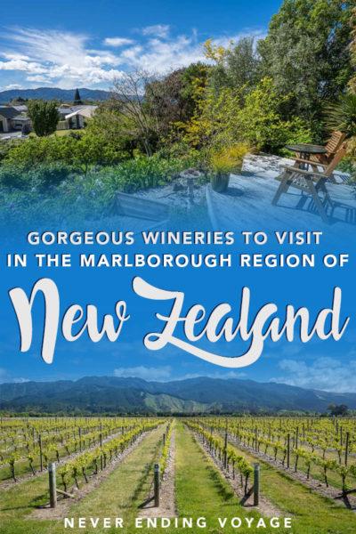 Tous les meilleurs vignobles à visiter dans la région de Marlborough en Nouvelle-Zélande!