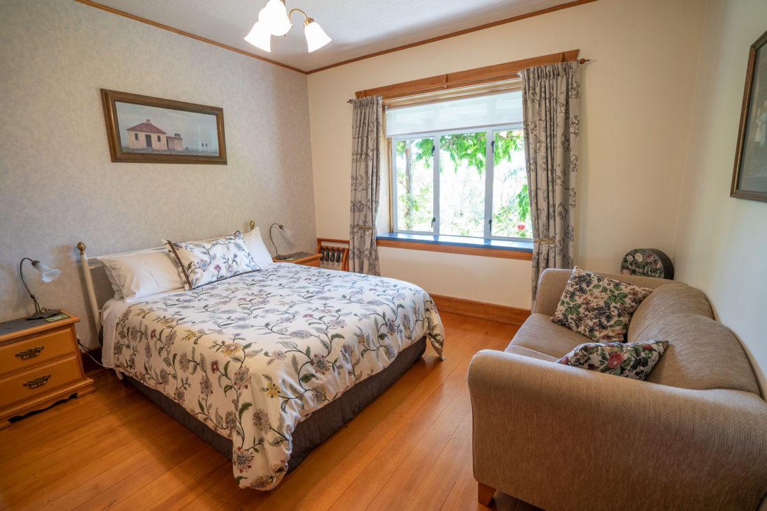 Chambre double à l'Olde Mill House B&B à Renwick, Marlborough en Nouvelle-Zélande