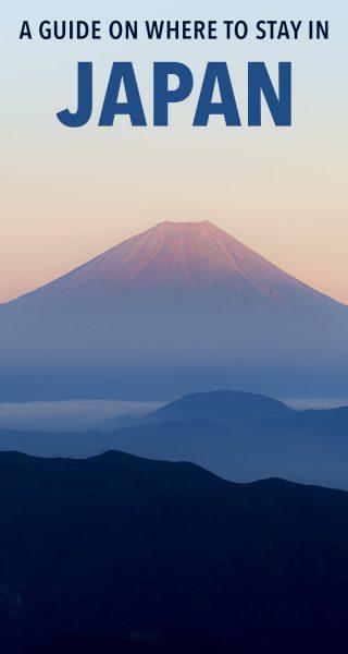 Vous vous demandez où séjourner au Japon? Consultez ce guide d'hébergement massif!