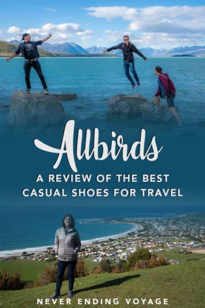 Une revue complète des baskets Allbirds pour le voyage! | chaussures de voyage, revue allbirds, baskets allbirds, conseils d'emballage