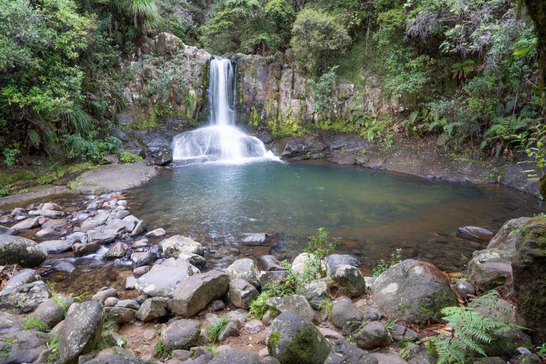 Waiau Falls sur la route 309 dans le Coromandel, NZ
