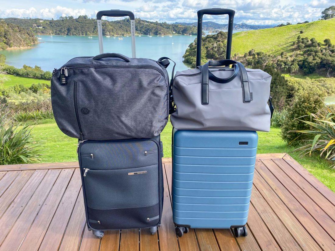 Porter les valises