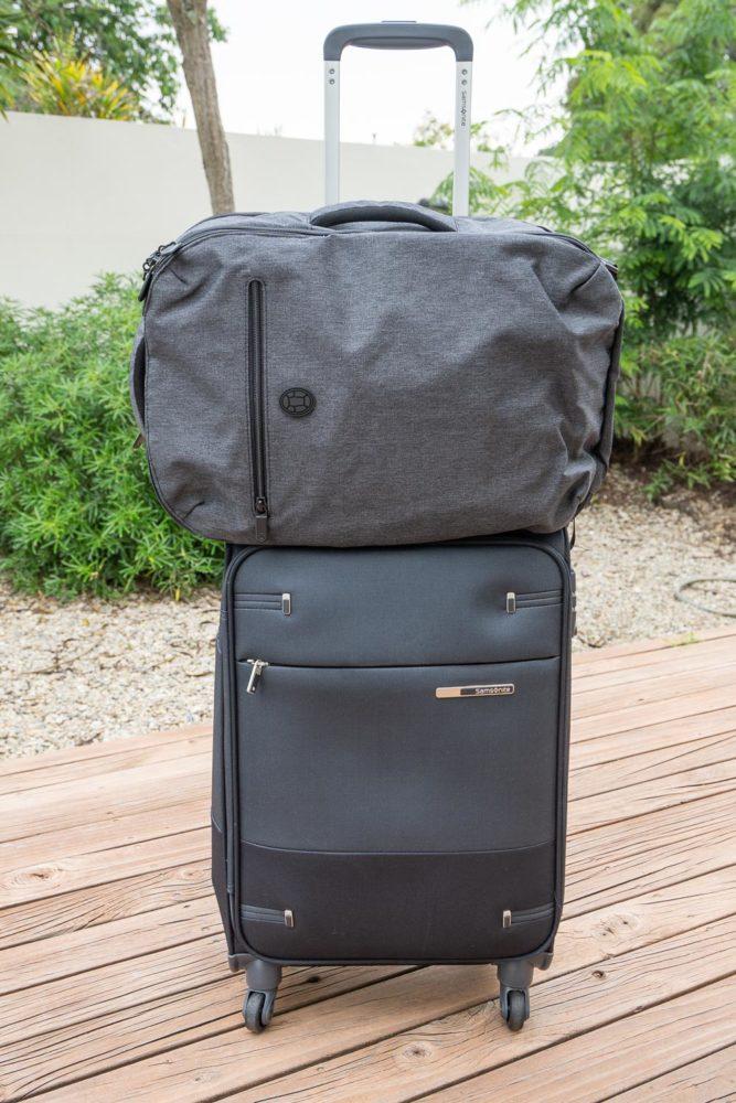 Valise Samsonite Base Boost Spinner et sacoche pour ordinateur portable Tortuga Setout